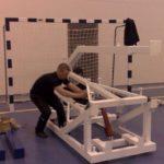 Монтаж спортивного оборудования 3