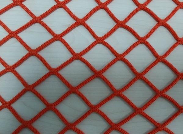 Сетка заградительная 40х40 мм, нить 3,1 мм, красная 1