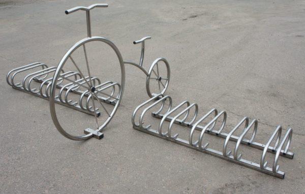 Велопарковка Декоративный велосипед 2
