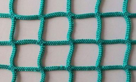 Сетка заградительная 20х20 мм, нить 2,6 мм, зеленая 1