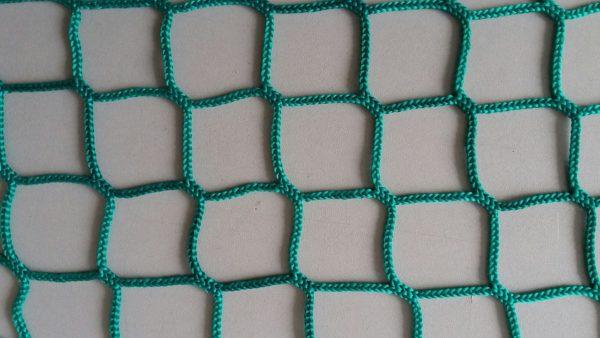 Сетка заградительная 40х40 мм, нить 2,6 мм, зеленая 1