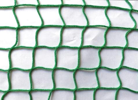 Сетка заградительная 40х40 мм, нить 2,2 мм, зеленая 1
