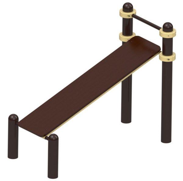 Скамья для пресса, доска 28 мм 1