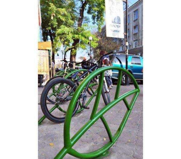 Велопарковка Лист на 2 места 3