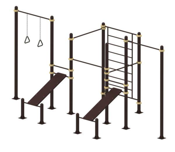 Спортивный комплекс для подготовки к сдаче норм ГТО 2 - YSK81 1