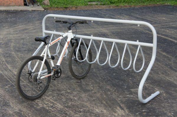 Велопарковка ВП8 на 10 мест (рекламная) 3
