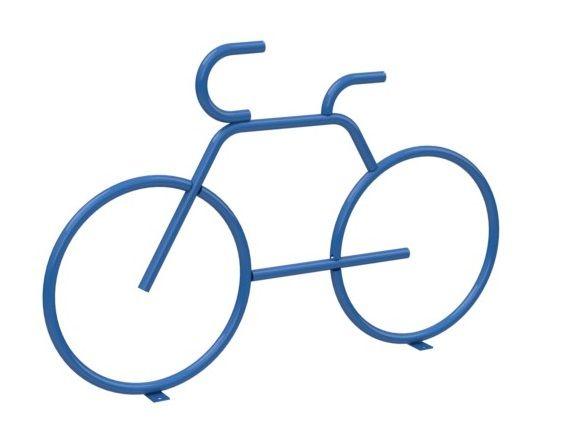 Велопарковка Декоративный велосипед 1