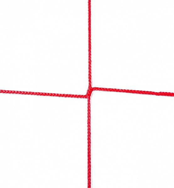 Сетка заградительная 100х100 мм, нить 3,1 мм, красная 2