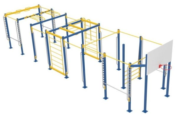 Атлетический комплекс для сдачи норм ГТО АК100 1