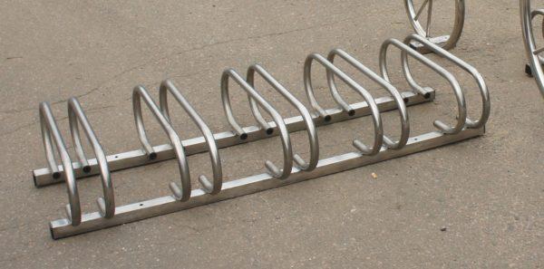Велопарковка ВП7 нержавейка (от 2 до 10 мест) 1