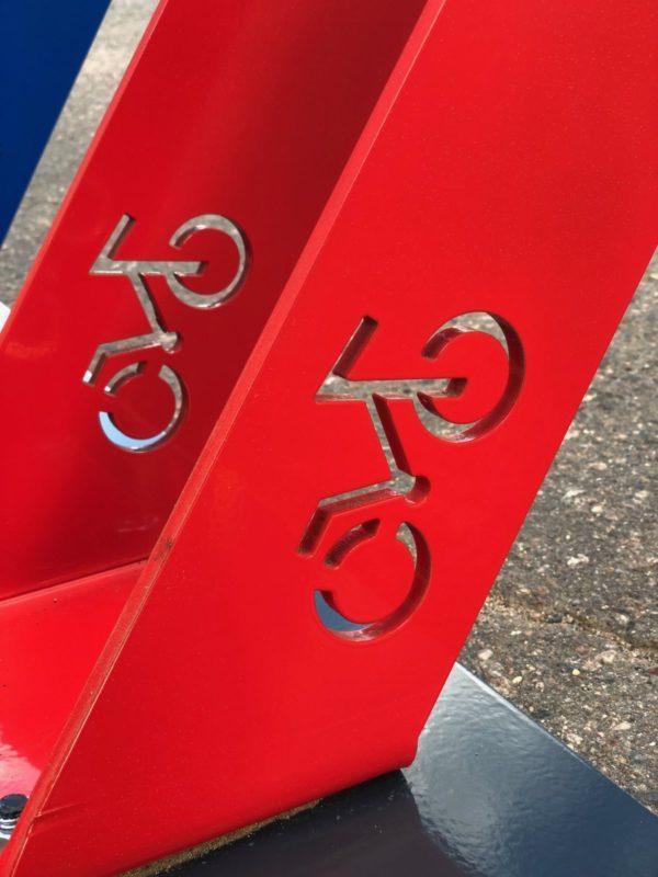 Велопарковка Фора 01 на 4 места 2