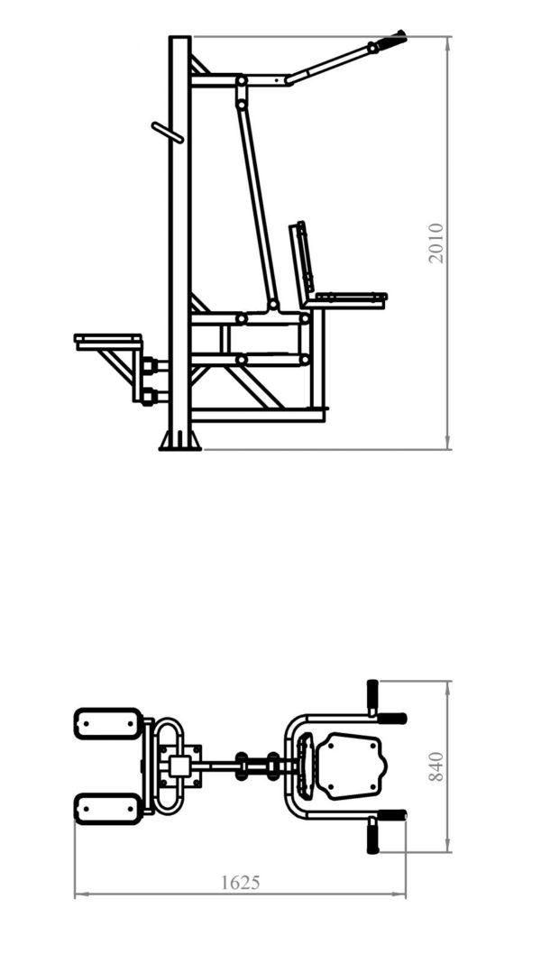 Степ + Вертикальная тяга 2