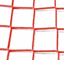 Сетка заградительная 100х100 мм, нить 3,1 мм, красная 1