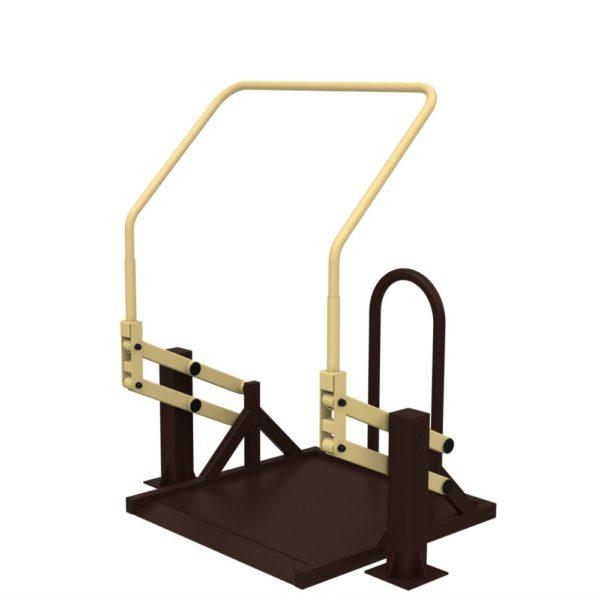 Тренажер для колясочников Подтягивание на платформе 1