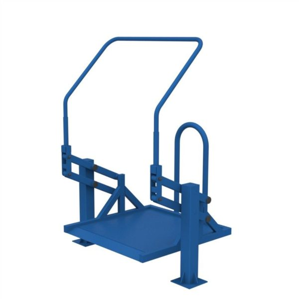 Тренажер для колясочников Подтягивание на платформе 2
