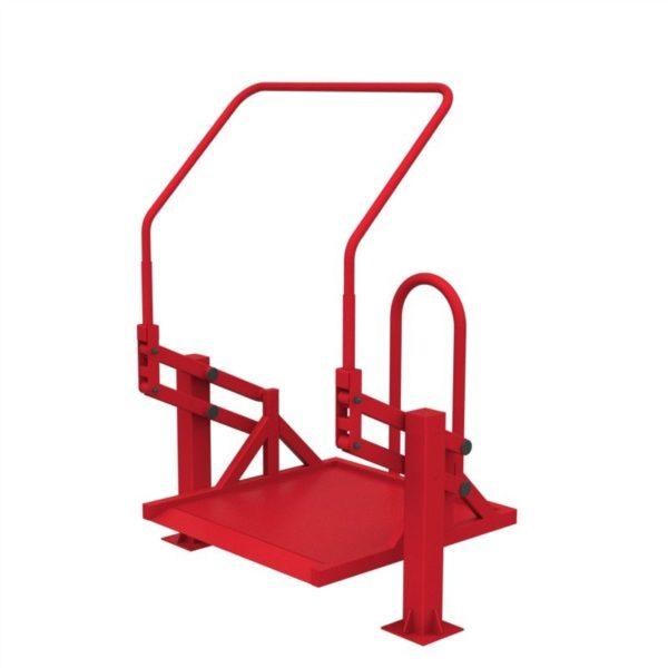 Тренажер для колясочников Подтягивание на платформе 3