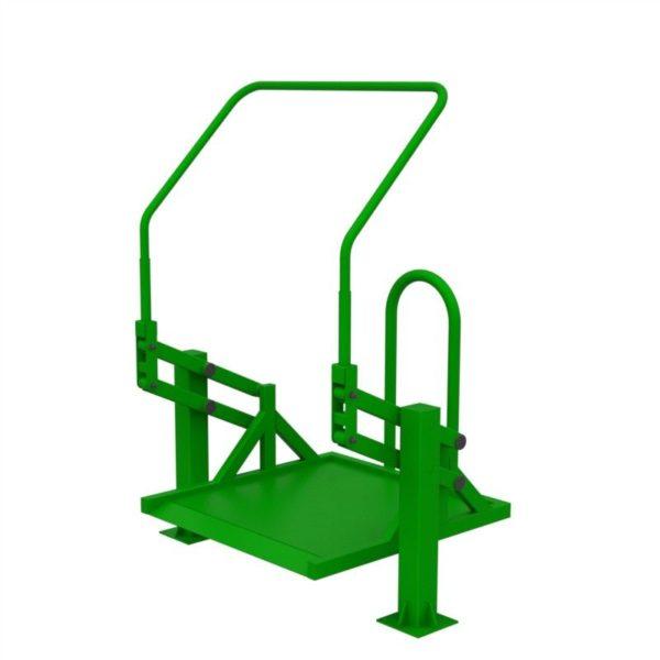 Тренажер для колясочников Подтягивание на платформе 4
