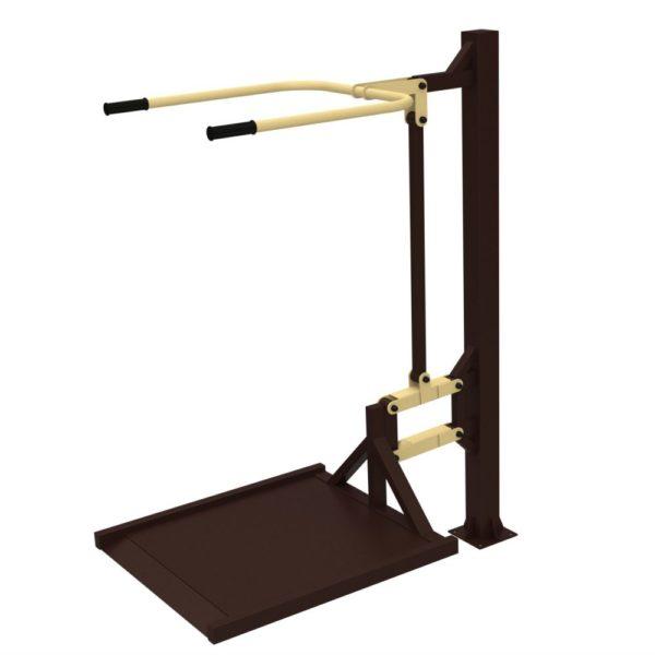 Тренажер для колясочников Вертикальная тяга 1