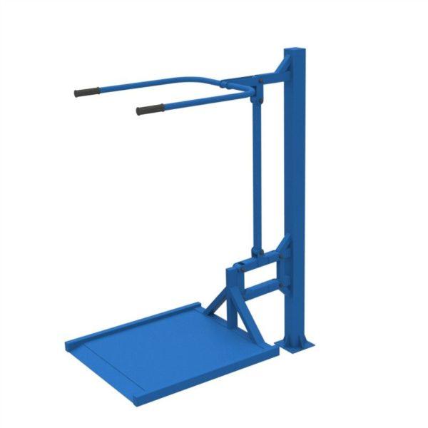 Тренажер для колясочников Вертикальная тяга 2