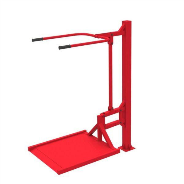 Тренажер для колясочников Вертикальная тяга 3