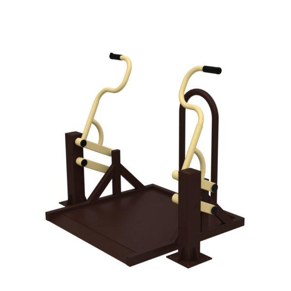 Тренажер для колясочников Жим на платформе 1