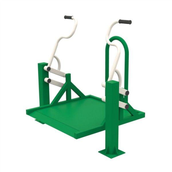 Тренажер для колясочников Жим на платформе 2