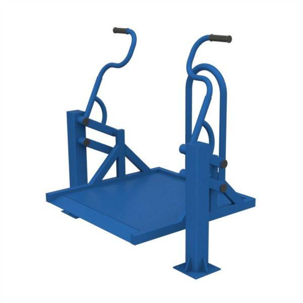 Тренажер для колясочников Жим на платформе 3