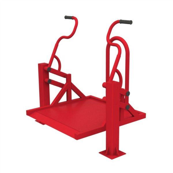 Тренажер для колясочников Жим на платформе 4