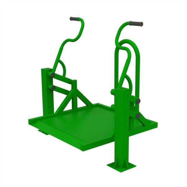 Тренажер для колясочников Жим на платформе 5