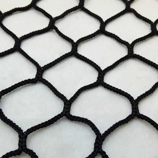 Сетка заградительная 40х40 мм, нить 2,6 мм, черная 1