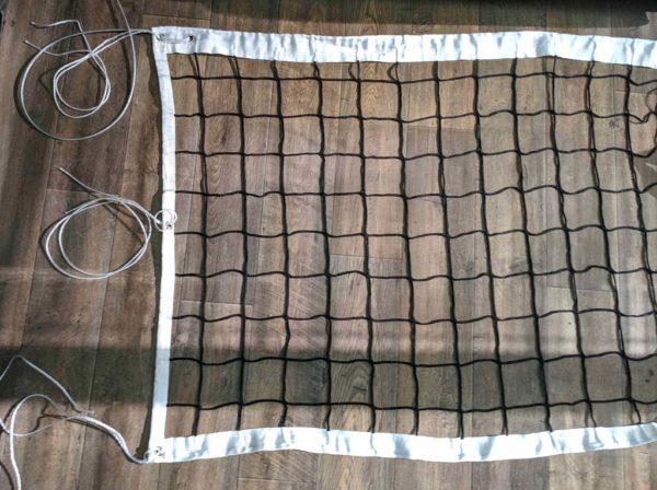 Сетка волейбольная, нить 4 мм, стальной трос 5 мм 2
