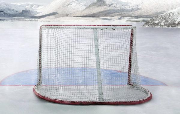Сетка для хоккейных ворот 1,85х1,25х0,70х1,30 м, нить 5 мм 1