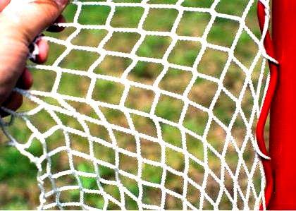 Сетка для хоккейных ворот 1,85х1,25х0,70х1,30 м, нить 4 мм 2