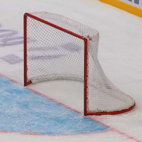 Сетка для хоккейных ворот, 1,85х1,25х0,70х1,30 м, нить 2,6 мм 1