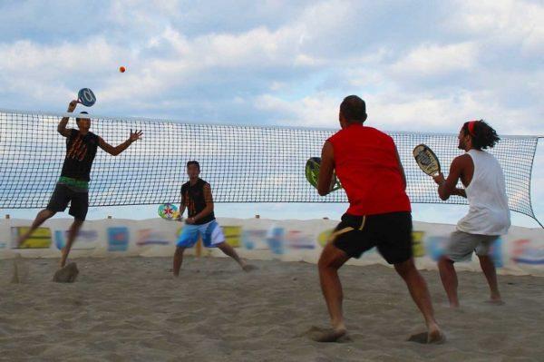 Сетка для пляжного тенниса, нить 3 мм 1