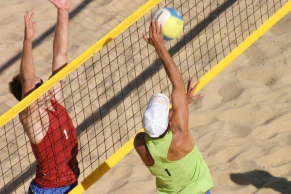 Сетка для пляжного волейбола, нить 3 мм, трос ПЭ 6 мм 1