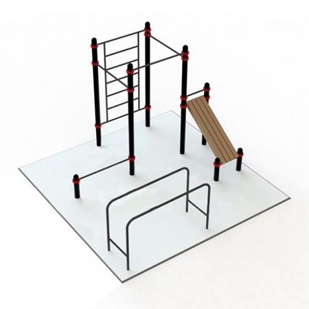 Воркаут площадка 1 (5х5 м) 1
